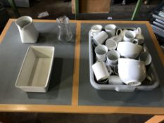 Various crockery