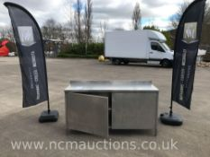 Stainless Steel Counter With Under Storage