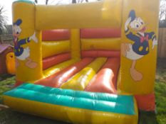 12ft by 14ft Big Bed Donald Duck Bouncy Castle