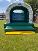 Football Bouncy Castle 15ft by 12ft Big Bed