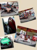 Fairground Merry Go Round Ride