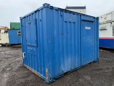 Anti Vandal Steel Portable Office Canteen