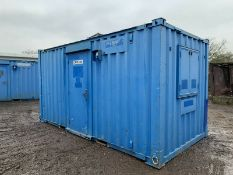 Anti Vandal Steel Portable Office Canteen Drying Room