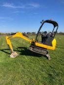 JCB 801 Mini Digger 1.5 Tonne