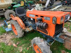 Kubota B7100 Compact Tractor Complete With Mower