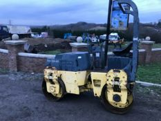 Bomag 120 Twin Drum Vibration Roller