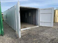 Anti Vandal Steel Portable Storage Container