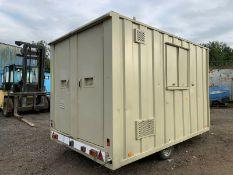 Groundhog GP360 Anti Vandal Steel Towable Welfare Unit