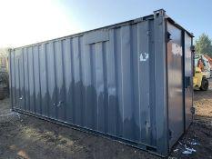 Anti Vandal Steel Portable Office / Storage / Canteen