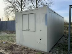 Anti Vandal Steel Portable Office