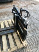 Forklift Truck Fork Position