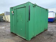 Anti Vandal Steel Portable Office.