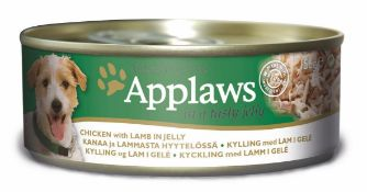 Applaws Dog Tin 12x(6x156g) Chicken with Lamb in Jelly. 72 tins total. Full RRP £132 plus.