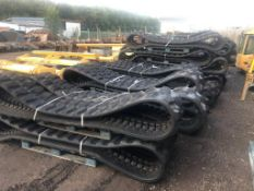 Volvo Undercarriage Rubber Track
