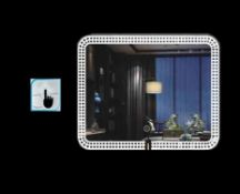 x 5 Bathroom Illuminated LED Mirrors