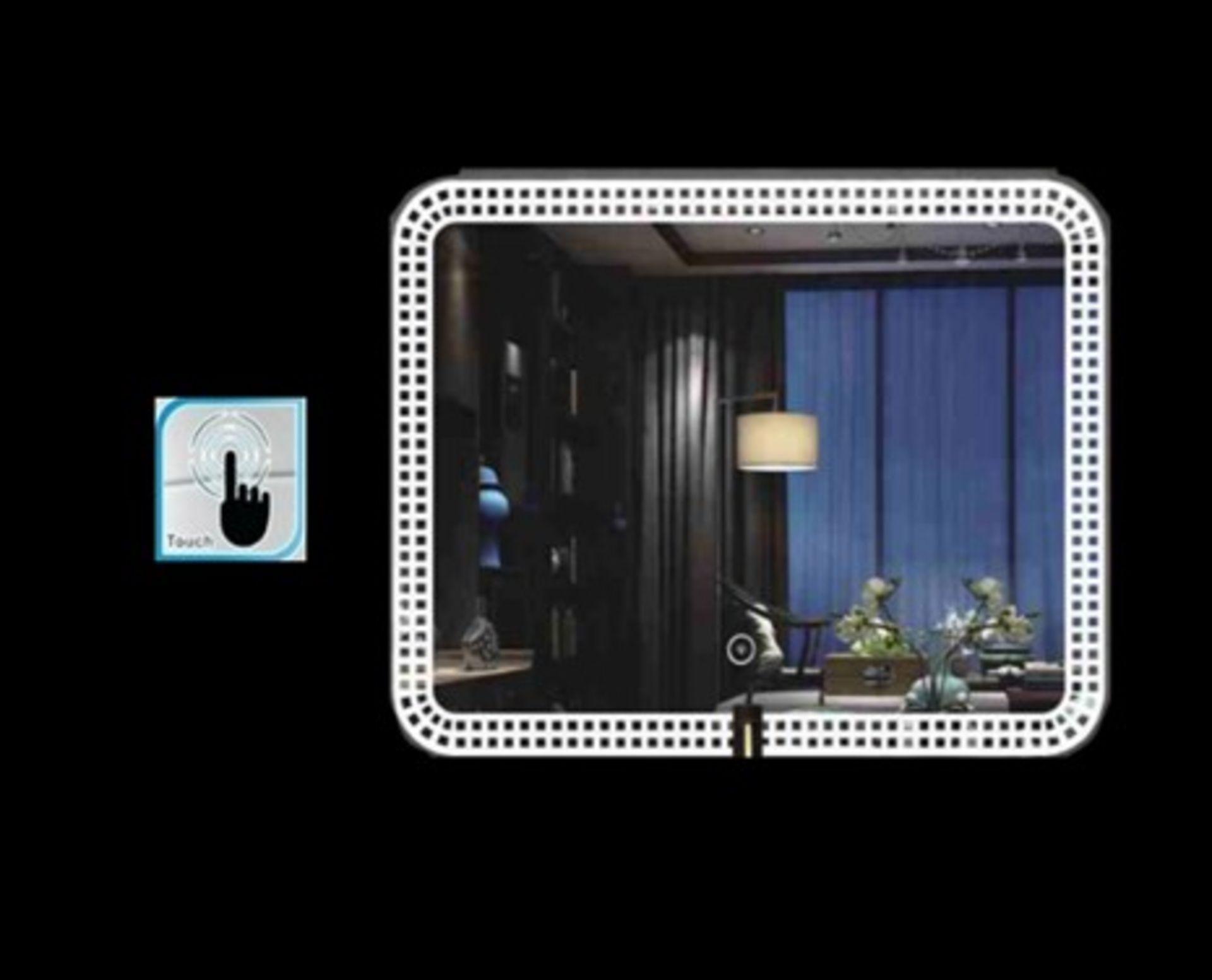 Lot 54 - x 5 Bathroom Illuminated LED Mirrors