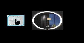 Touch Bathroom Illuminated LED Mirror