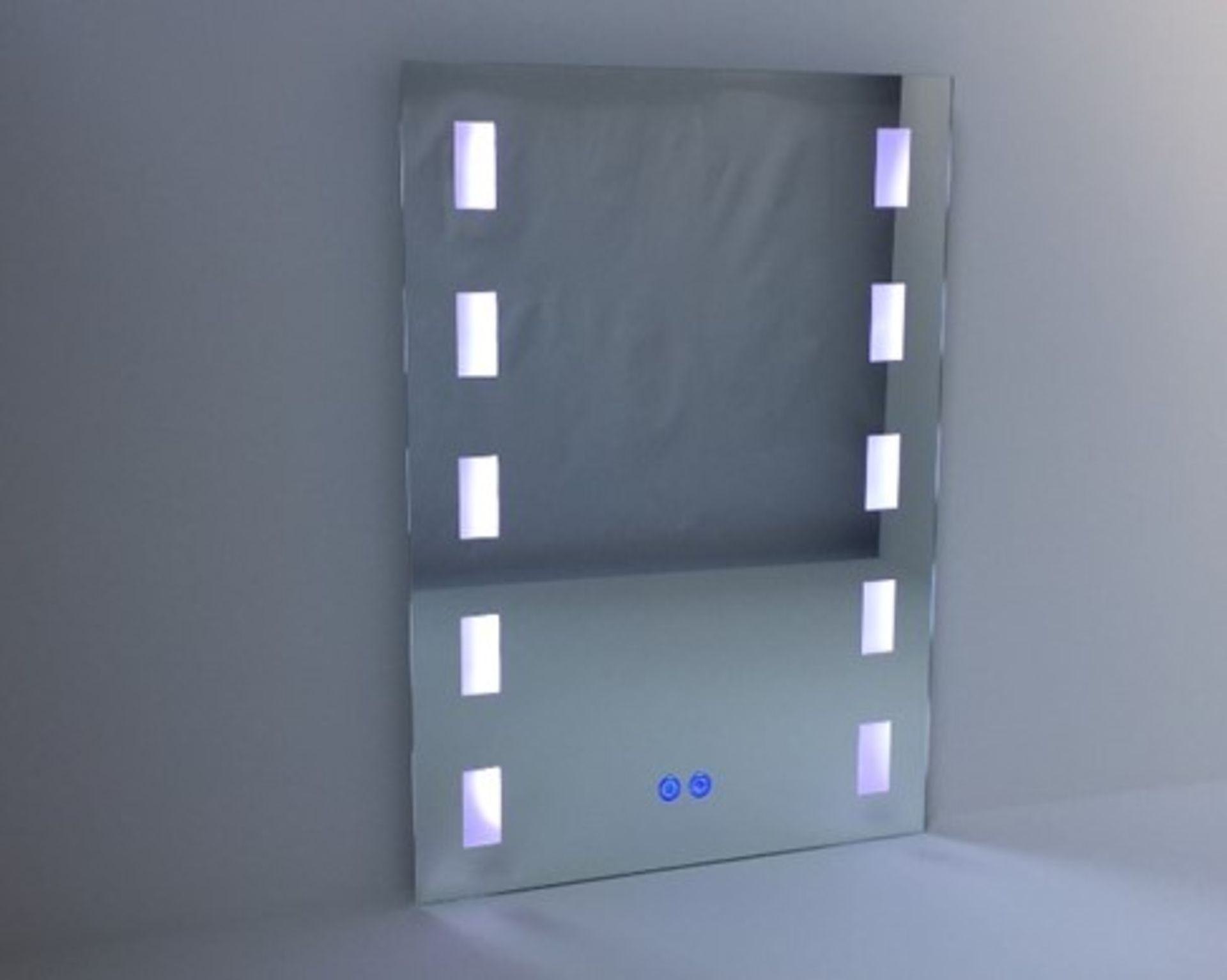 Lot 47 - x 5 Bathroom Illuminated LED Mirrors