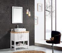 Miura Vanity Unit & Basin Sink Floor Standing Victorian Bathroom