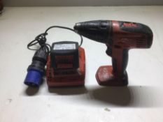 Hilti cordless drill model scf14-A