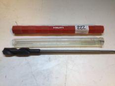 HILTI SDS TE-c-HB 25mm / 40mm Shanked Metel Drill Bit