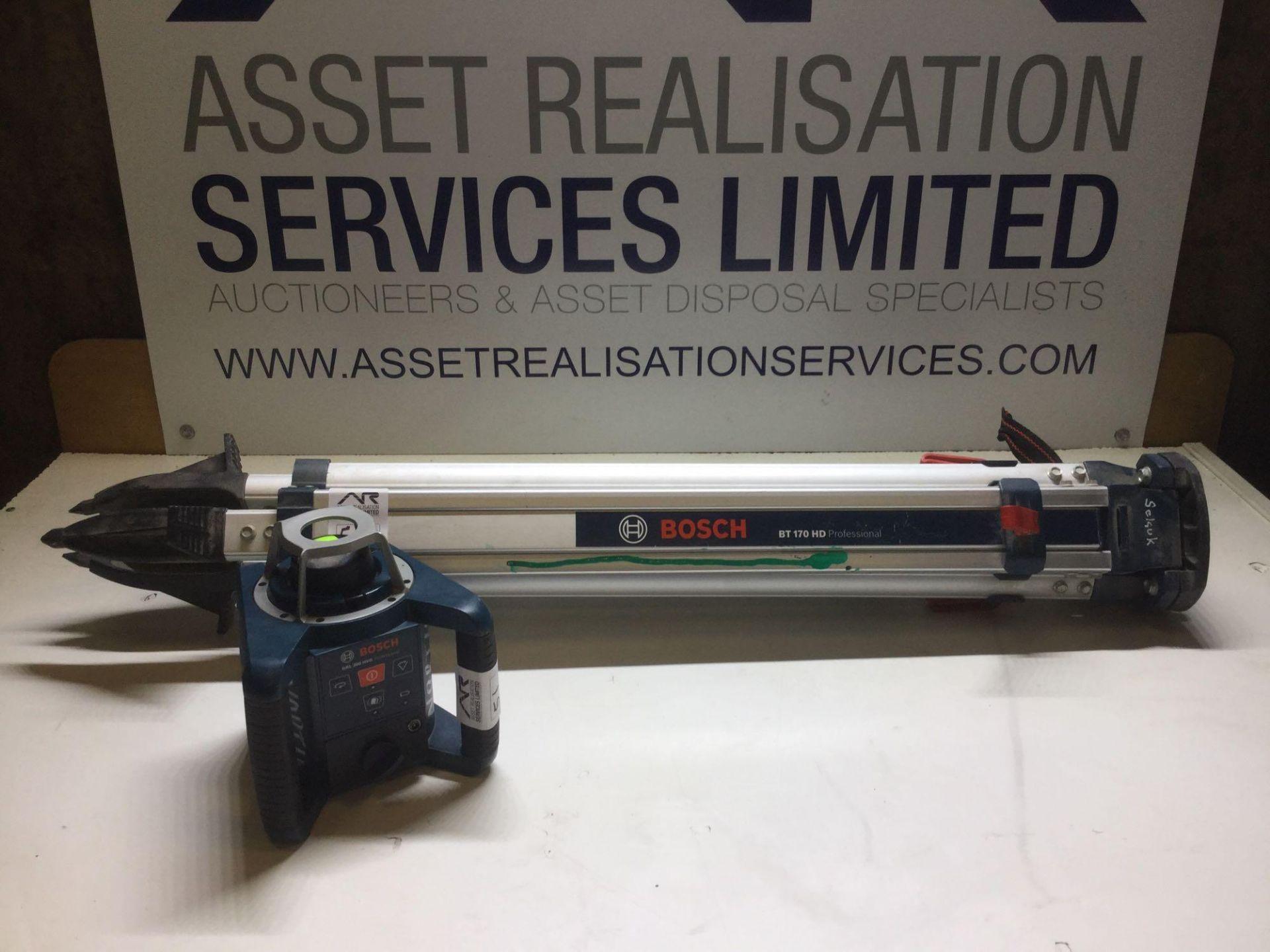 Lot 51 - Bosch GRL 300 HVG Professional Rotary Laser