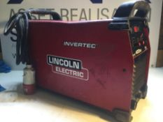 Lincoln Electric Invertec 400sx Welder 3phase