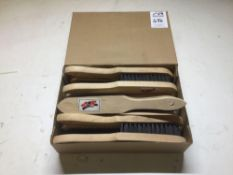 Box of 12 stg wire brushes