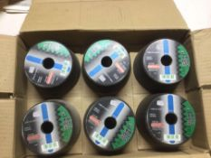 Metabo Stone Grinding Wheels x 6 per box