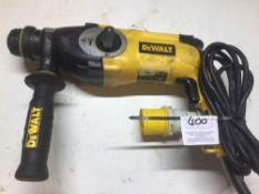 Dewalt D25123 LX SDS Hammer Drill 110v