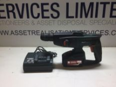 Metabo SDS Hammer Drill With Charger & 18v Li power 5.2ah Battery