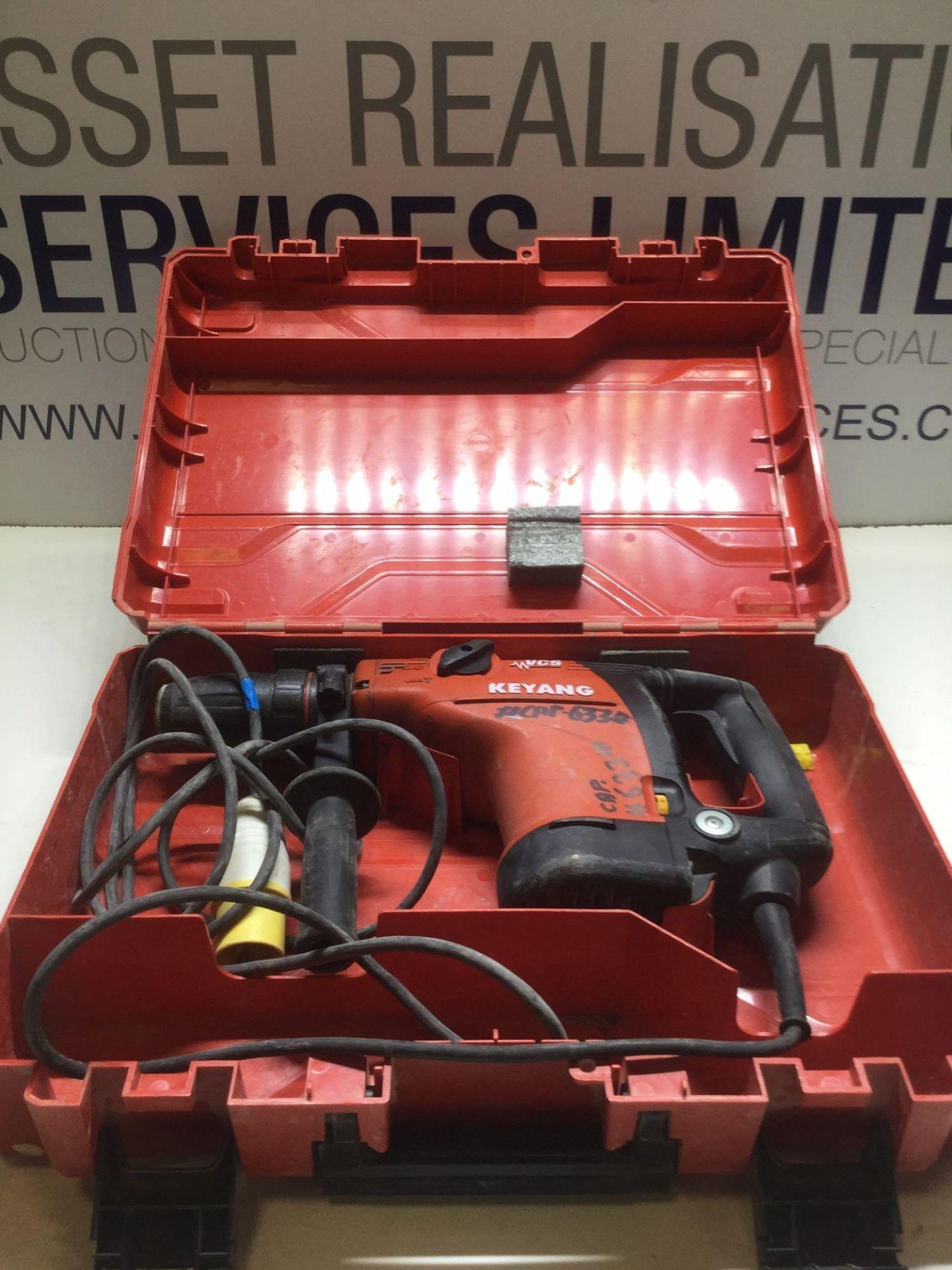 Lot 15 - Keyang VCS Hammer Drill 1100 W 110v