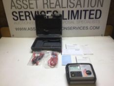 Megger MIT320 Electrical Tester with all Testing Cables In Box As New