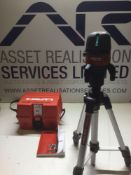Hilti PM 4-M Laser Level on PMA 20 Adjustable Stand Boxed As New