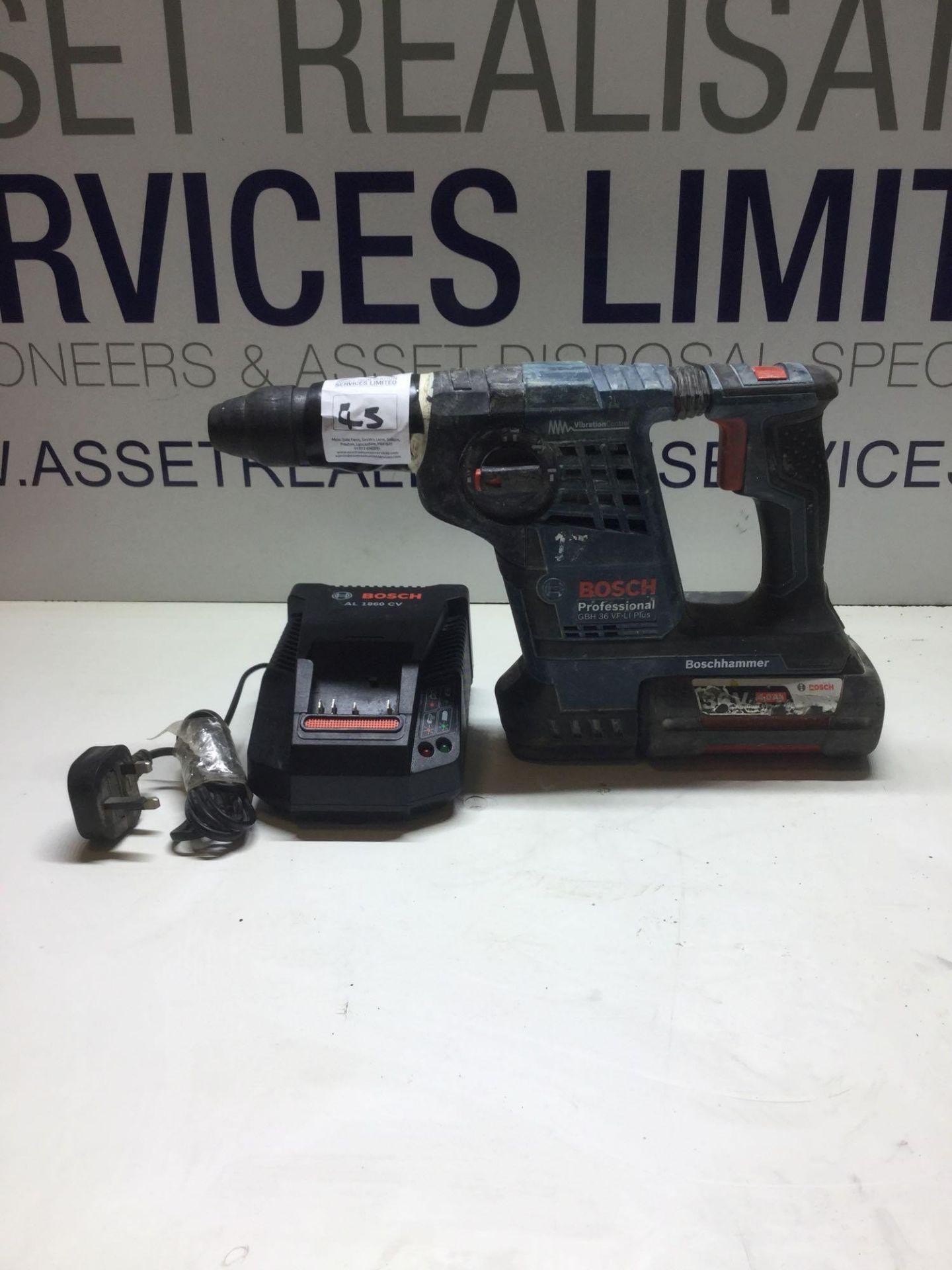 Lot 45 - Bosch Hammer professional GBH 36 VFLi Plus