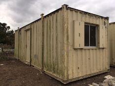 Anti Vandal Steel Portable Site Office