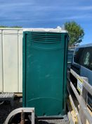 ZERO RESERVE Portable Site Toilet With Built in Sink and Waste Tank