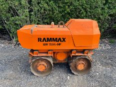Rammax RW 1504-HF Double Drum Trench Roller