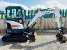 Bobcat E25 Excavator 2016