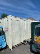 ZERO RESERVE!! Steel Double Toilet Block