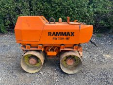 Rammax RW1504-HF Trench Roller Double Drum