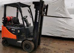 Doosan 2009 Gas Forklift