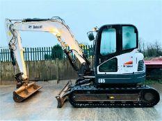 Bobcat E85 Excavator 2014