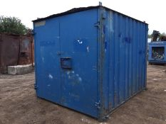 Steel Anti Vandal Storage Container. 10ft x 8ft