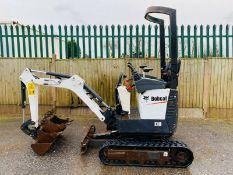 Bobcat E10 Excavator / Digger 2016