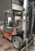 Nissan 3 Ton Diesel Forklift, Forktruck,