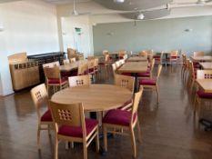 Large Quantity of Matching Restaurant Furniture