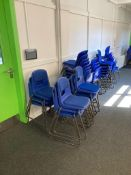 Stackable Polypropylene Chairs x10