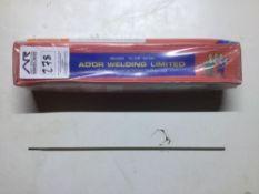 Ador Mild Steel Electrodes / Sticks 2.5mm / 350mm / 5kg per box