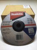 "Makita 7"" Metal Cutting Disc x15 per box"